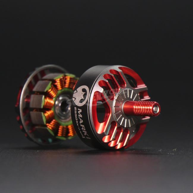 Set of 4 RCINPOWER New Mark 2306 kv2550 Brushless Power Motor Racing Edition(package is not included)