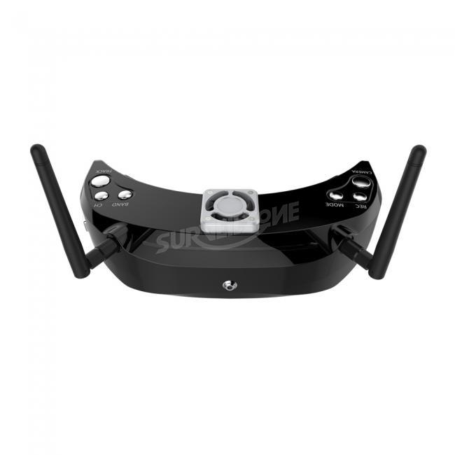 Skyzone SKY03 3D 5.8G 48CH Diversity Receiver FPV Goggles with Head Tracker Front Camera DVR HD Port
