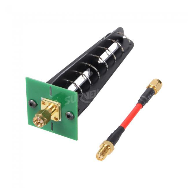Aomway 5.8G 11dbi 7 Turn Helical RHCP Antenna SMA Connector