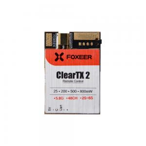 Foxeer ClearTX 2 5.8G 48CH 25/200/500/800mW Remote Control VTx  (antenna is excluded)