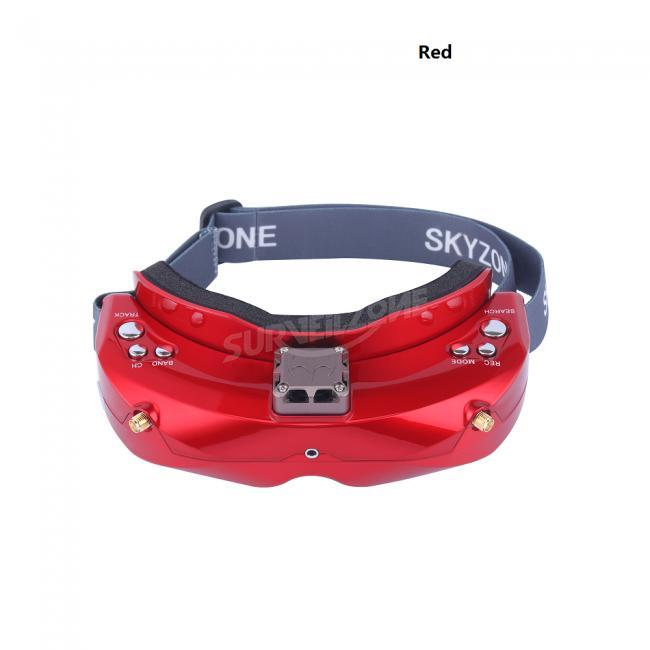 SKYZONE SKY02X 5.8Ghz 48CH Diversity FPV Goggles with Head Tracker Front Camera Built-in Fan 2D/3D HDMI for RC Drone