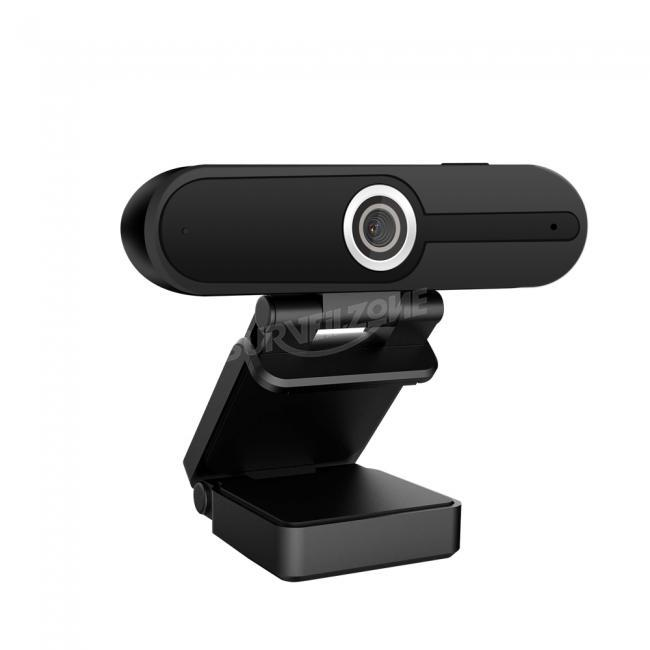 Full HD 1080P High Definition Webcam with 1/2.7inch 2MP CMOS Sensor Built-in Mic